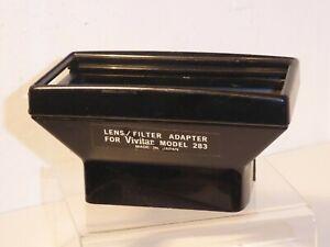 AUTHENTIC VIVITAR LENS / FILTER ADAPTER for VIVITAR 283 LIGHT MACHINE FLASHGUN