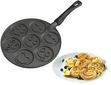 """Nordic Ware Pfannkuchen-Pfanne""""SMILEY FACE""""(antihaft) Gesicht,Eierkuchen,Pancake"""
