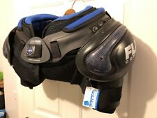 New! Bauer Flak Composite FSP500 Cool Max Hockey Shoulder Pads Sr Medium Protect