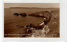 RATHLIN ISLAND FROM CARRICK-A-REDE: Co Antrim Northern Ireland postcard (C25843)