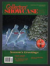 Collector's Showcase Magazine - Coca Cola Polar Bears - Dec/Jan 1994-1995 Issue