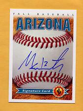 2014 Arizona Fall League AUTO card MALLEX SMITH Padres
