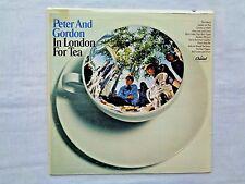 Peter & Gordon In London For Tea 1967 Capitol T-2747 1st G-2/F-1 Press Inner NM-