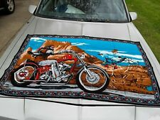 David mann easy rider Tapestry wall hanging vintage