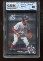 Juan Soto RC 2017 Bowman Chrome Draft #BDC-162 Rookie GEM MINT 10