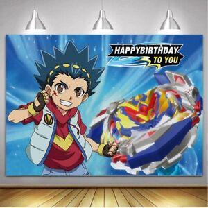 Beyblade Happy Birthday Banner