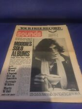 Sounds JUly 13 1974 Traffic Clapton Ronnie Wood Moody Blues