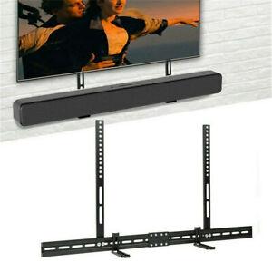 Soundbar Halterung universal für Montage am TV oder Wandhalterung Verstellbar