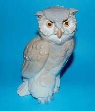 Nao by Lladro Figurine ' Owl '  Wildlife bird ornament 1st Quality  (6870)