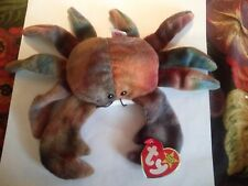 TY Beanie Babies - Claude the Crab - Rare Version w/ Errors mint condition #4083
