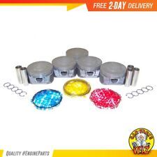 Pistons and Rings Fits 07-12 GMC Hummer Isuzu 3.7L DOHC