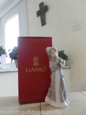 Lladro # 6532 A Christmas Song Caroler w/ Horn Mint Condition w/Box Fast Ship!