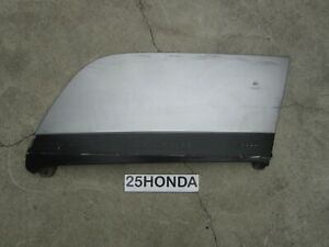 2000-2006 Honda Insight Drivers Rear Wheel Fender Skirt Cover OEM Silver ZE1