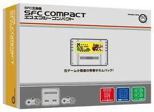 NEW!!! SFC COMPACT Console Super Famicom Columbus Circle From Japan Game 65C F/S