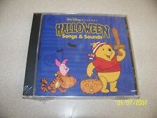 """DISNEY """"Halloween Songs & Sounds"""" CD-NEW & SEALED"""