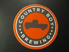 "COUNTRY BOY BREWING Cougar Bait Shotgun 3"" STICKER decal craft beer brewery"