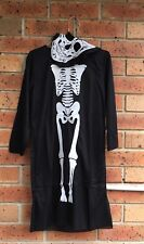 Kids Skeleton Costume Child Fancy Dress Halloween Party