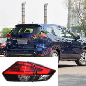 2Pcs For Nissan X-Trail/Rogue 2017-2018 Rear Left Tail Lamp Brake Light Signal