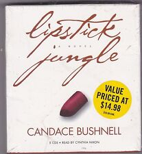 Lipstick Jungle by Candace Bushnell (2007, CD, Abridged) NEW Women of New York C