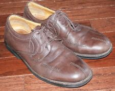 Bostonian Brown Leather Oxfords Casual Shoes Mens Size 41 8.5