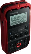 Roland R-07 RD Red Handy Portable Recorder Digital Audio Linear PCM NEW