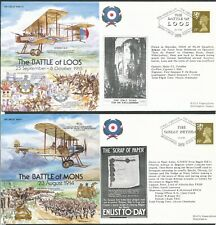 More details for great britain 1995 great war first day covers x 7 bin price gb£10.00