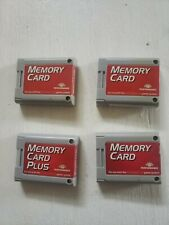 MEMORY CARD PLUS Nintendo 64 Performance Brand N64 x4
