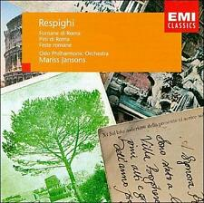 Respighi: Fantane di Roma; Pini di Roma; Feste romane (CD, 1996) Mint #CH27