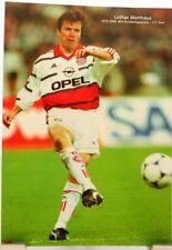 Lothar Matthäus + Mönchengladbach + Bayern München + Fan Big Card Edition C110 +