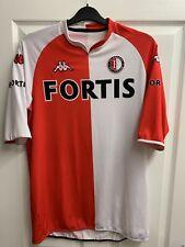 2007/2008 Feyenoord home football shirt Kappa XXL mens Fortis 2XL XL Rotterdam