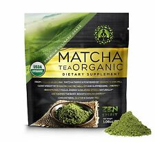 Matcha Green Tea Powder (Premium Culinary Grade) - USDA Organic - Vegan Certi...