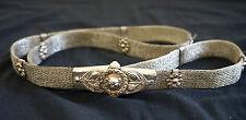 Ethnic Middle Eastern Silver Jewelry - Tribal Silver Belt from Yemen