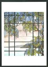 Louis Comfort Tiffany : Wiew of Oyster Bay - cartolina stampata in USA - 2000