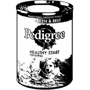 Pedigree Brand  Chicken Beef Puppy Food 13 oz.cans X 24  Mars Pedigree  01301