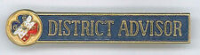GIRL SCOUTS (GUIDES) OF PHILIPPINE - DISTRICT ADVISOR Metal Membership Pin Patch