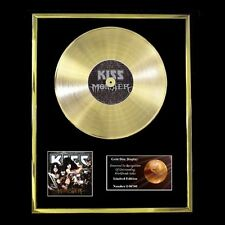 KISS MONSTER CD GOLD DISC FREE P+P!
