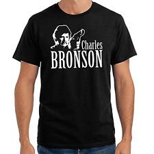Charles Bronson Film TV Movie Picture Cult Retro Stencil Fanshirt Fan