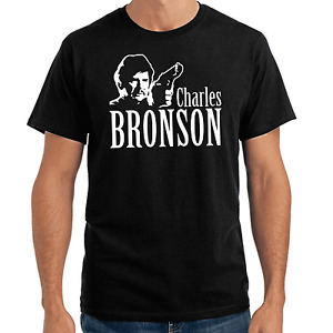Charles Bronson Film TV Movie Konterfei Kult Retro Stencil Fanshirt Fan T-Shirt