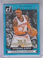 2014-15 Donruss Scoring Kings Stat Line Career #24 Carmelo Anthony /253