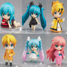 6x Anime Vocaloid Hatsune Miku Cute PVC Figure Model Toy Gift Doll New NO Box