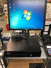 (2)Dell Optiplex 745 Platform Pos System, with Bar Code Label Printer/scanner