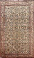 Antique Floral Anatolian Turkish Oriental Area Rug Hand-knotted Wool Carpet 5x7