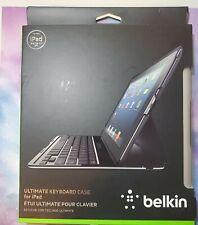 Belkin QODE Ultimate Keyboard Case for iPad 2 iPad 3rd Gen and iPad 4