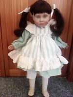LEE MIDDLETON COLLECTIBLE BABY DOLL WITH GREEN EYES