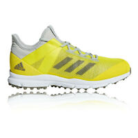 adidas Mens Zone Dox Hockey Shoes Pitch Field Yellow Sports Breathable Trainers