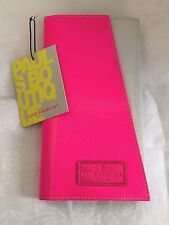 Pauls Boutique Luxe 4 Pc Brush Set Shocking Pink Case NEW