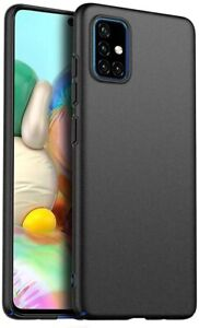 For Samsung Galaxy A71 Case Ultra Slim Hard Back Cover - & Camera Protector