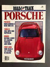 1989 Road & Track Magazine Porsche Special Edition RARE!! Awesome L@@K