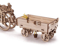 TRAILER for Tractor 3D Mechanical Puzzle, wooden construction kit moving model
