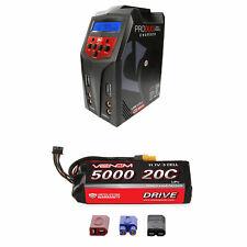 Venom 20C 3S 5000mAh 11.1V LiPo Battery with Pro Duo Charger Combo